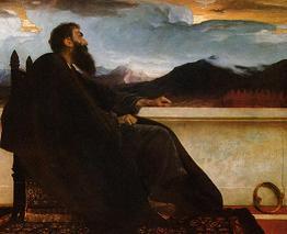 Фредерик Лейтон, Царь Давид, 1868г